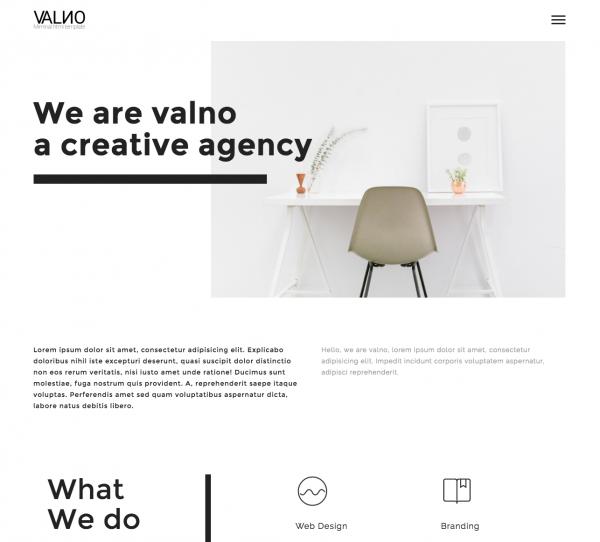 valno-minimal-creative-multi-page-portfolio-wordpress-theme-preview-themeforest